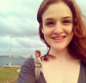 A selfie I took in Havana, Cuba by the Malecon