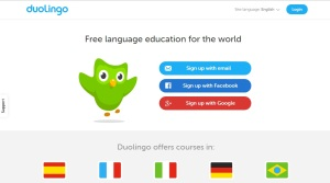 Use Duolingo to learn a new language!