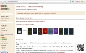 Project Gutenberg has saved me in literature classes throughout high school.